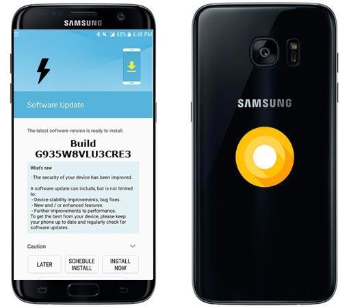 Samsung Galaxy S7 Edge Canada SM-G935W8 Oreo Official Firmware