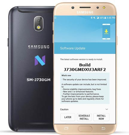 Samsung Galaxy J7 Pro SM-J730GM June 2018 Official OTA J730GMDXU3ARF2