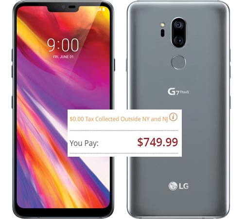LG G7 ThinQ Pre-Order Available US Region USD 750