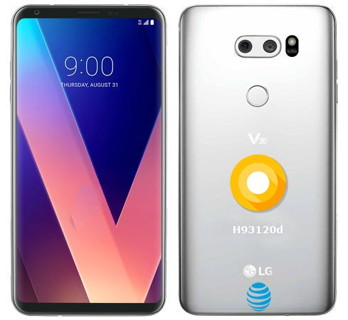 LG V30 AT&T USA June 2018 OTA Official Update H93120d
