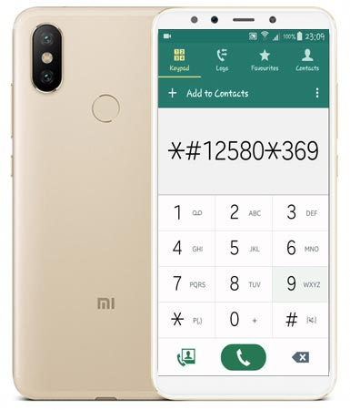 Xiaomi Mi 6X Codes-Useful Checking Secret Codes