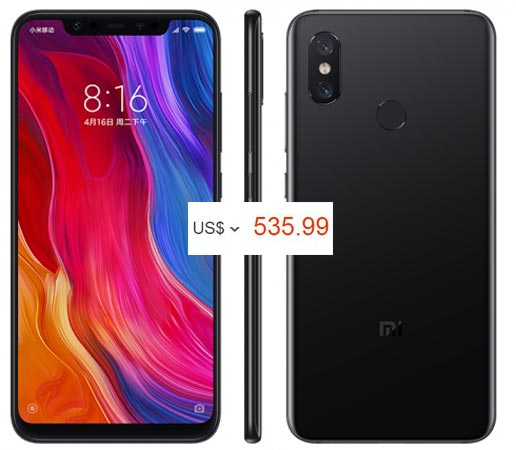 Xiaomi Mi 8 Pre-Order Available US Region USD 536