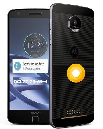 Moto Z Droid Edition Verizon Wireless USA Oreo Official OTA 8.0 Update