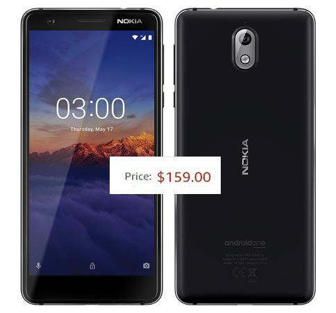 Nokia 3.1 2018 Available US Region USD 159