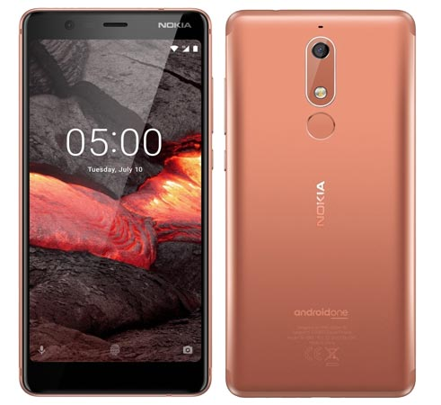 Nokia 5.1 2018 Pre-Order Available Russia RUB 13800