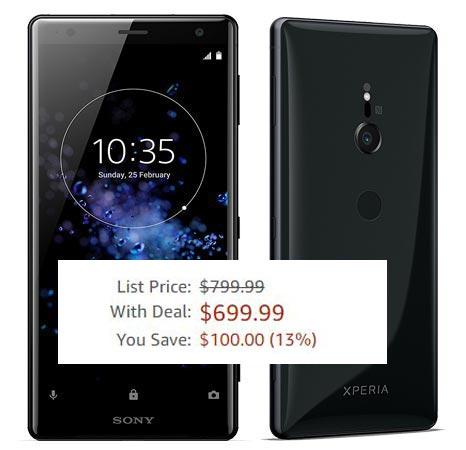 Sony Xperia XZ2 Deal US Region USD 700