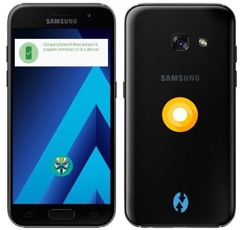 Root Samsung Galaxy A3 2017 SM-A320F Oreo 8.0 Install TWRP