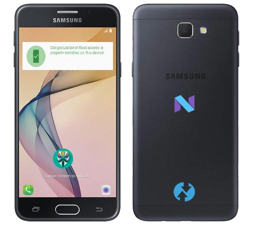 Root Samsung Galaxy J5 Prime SM-G570F Nougat 7.0 Install TWRP