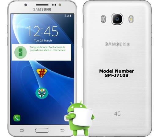 Samsung Galaxy J7 2016 SM-J7108 Marshmallow CF-Root