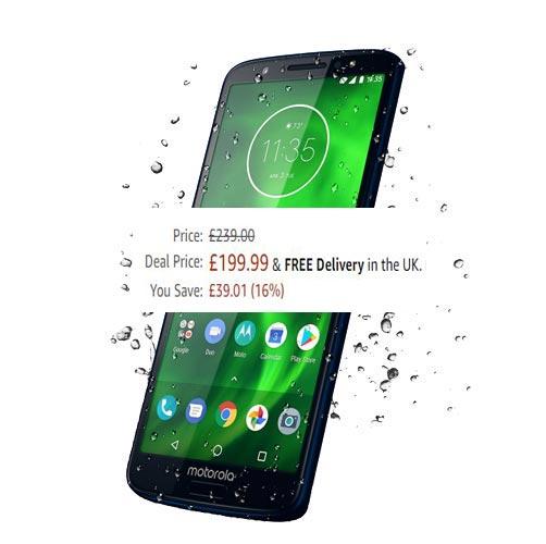 Moto G6 64 GB Amazon Prime Deal UK Region GBP 200