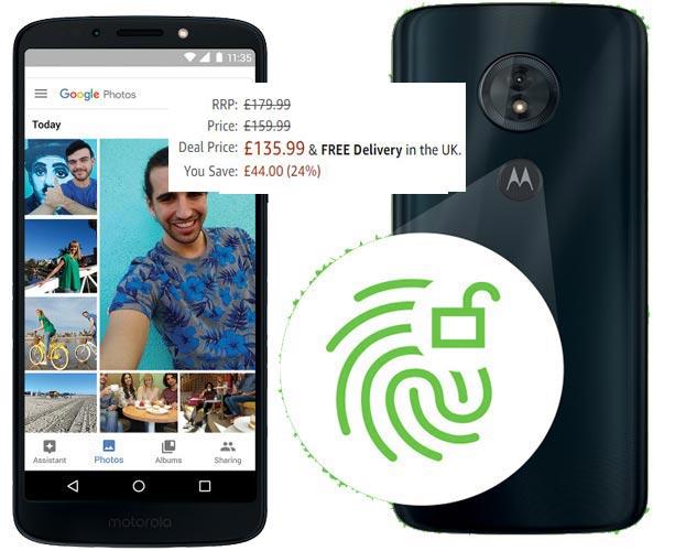 Moto G6 Play Amazon Prime Deal UK Region GBP 136