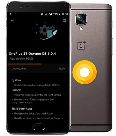 OnePlus 3T OxygenOS 5.0.4 Oreo Official OTA Update