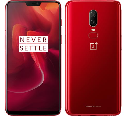 OnePlus 6 Red Launched With 8 GB RAM 128 GB ROM