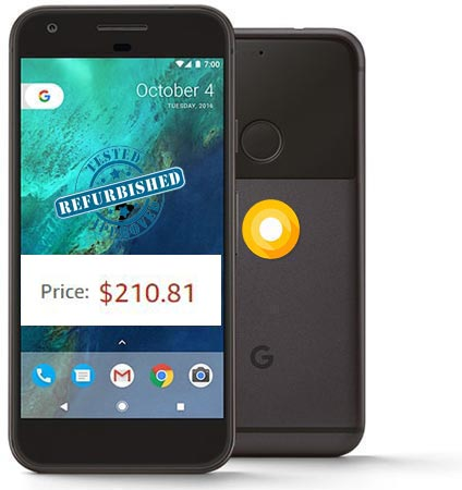 Google Pixel Refurbished Amazon Deal USD 210