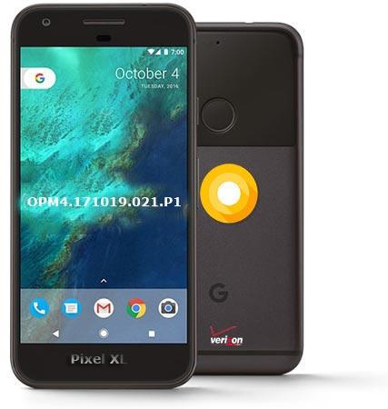 Google Pixel XL Verizon Wireless USA July 2018 OTA Update OPM4.171019.021.P1