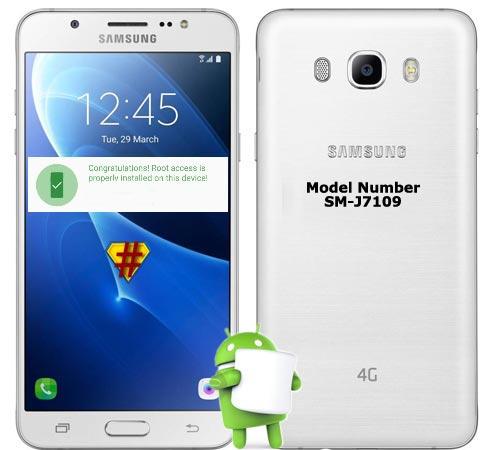 Samsung Galaxy J7 2016 SM-J7109 Marshmallow CF-Root