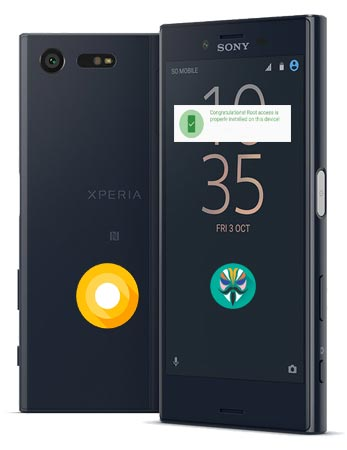 Root Sony Xperia X Compact Oreo TWRP