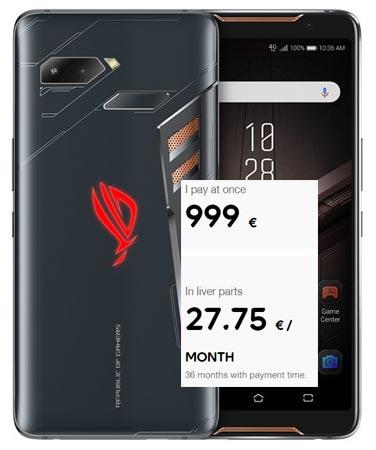 Asus ROG Phone Pre-Order Available Europe Region EUR 999