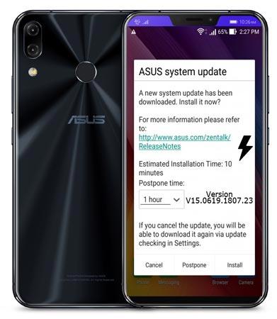 Asus ZenFone 5Z ZS621KL WW-80.11.37.95 Firmware