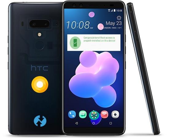 Root HTC U12 Plus Oreo Install TWRP