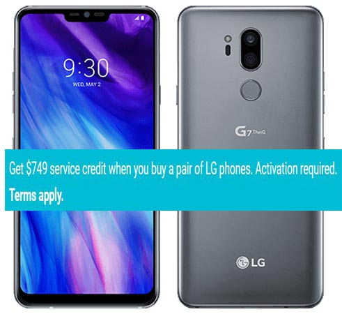 LG G7 ThinQ Project Fi Deal Buy Two Mobile US Region USD 749