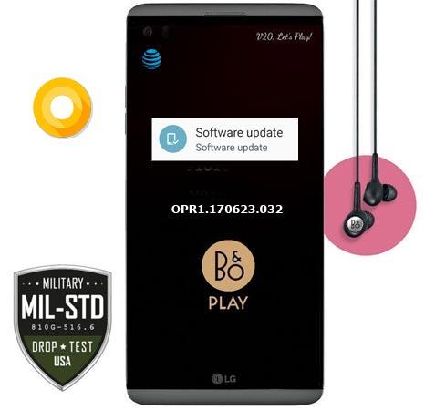 LG V20 AT&T USA H910 Oreo OTA Official Update H91020g