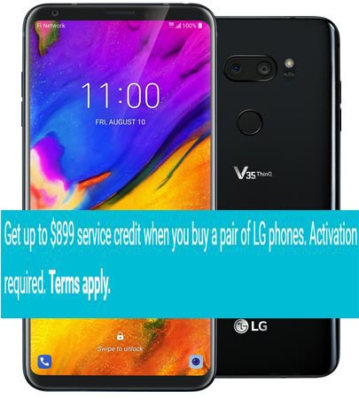 LG V35 ThinQ Project Fi Deal Buy Two Mobile US Region USD 899