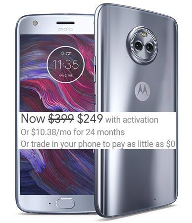 Moto X4 Project Fi Deal US Region USD 250