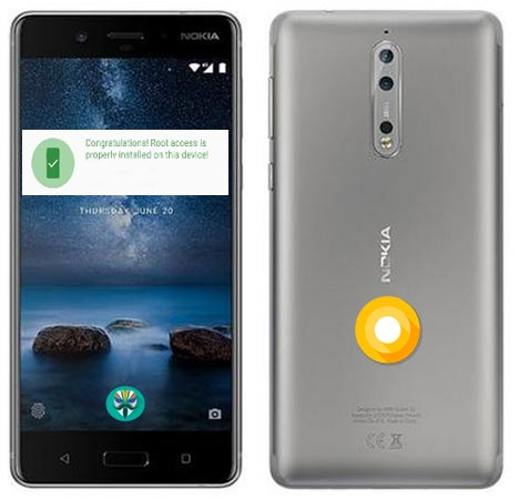 Root Nokia 8 Oreo Install TWRP Official