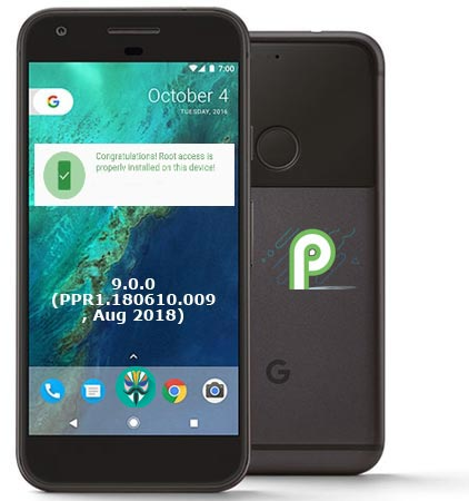 Root Google Pixel Android Pie 9.0 Install TWRP