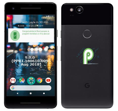 Root Google Pixel 2 Android Pie 9.0 Install TWRP