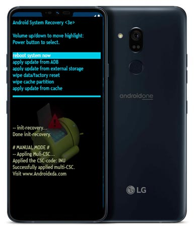 LG G7 One Modes and Respective Keys