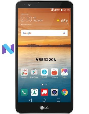 LG Stylo 2 Verizon VS83520k Update September 2018 Patch