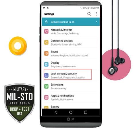 LG V20 Verizon Oreo Update VS99520a