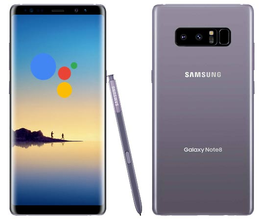 Launch Google Assistant in Samsung Galaxy Note 8 Using Bixby Key