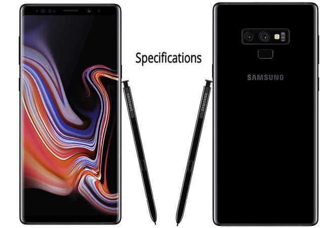 Samsung Galaxy Note 9 Specs and Model Number Details