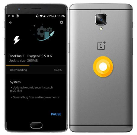 Download OnePlus 3 Oxygen OS 5.0.6 ROM Oreo 8.1 Official