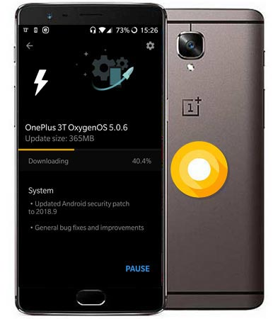 Download OnePlus 3T Oxygen OS 5.0.6 ROM Oreo 8.1 Official