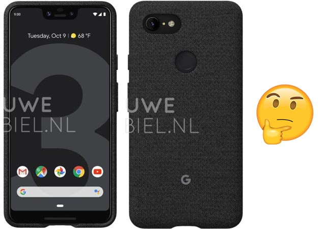 Maybe This is the Official Google Pixel 3 XL Case Leak