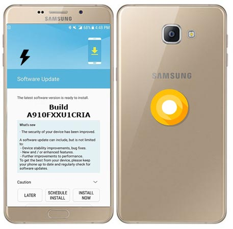 Samsung Galaxy A9 Pro 2016 SM-A910F Oreo Official Firmware Manual Installation