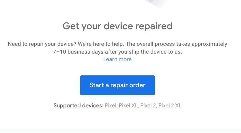 How You Can Repair Google Pixel Using Official Google Repair Center-Steps