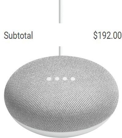Google Home Mini 5 Pack Google Store Deal USD 192 US Region USD 53 Offer