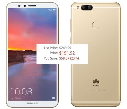 Huawei Mate SE Unlocked 4GB RAM 64GB ROM Deal USD 192 Save USD 58 Offer