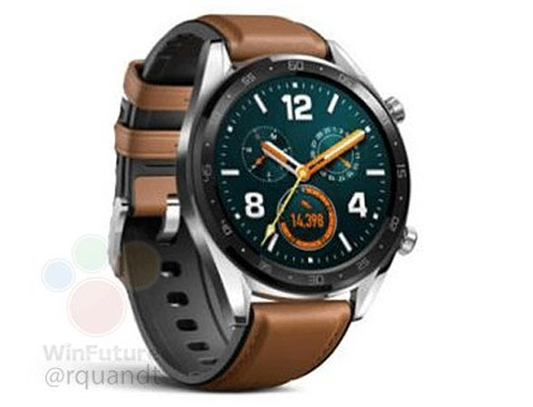 Huawei Watch GT Leaked Will Be Cheap Wear OS Device With Good Battery Life