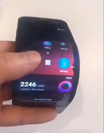 Lenovo Foldable Smartphone Live Video Leaked and They Really Working On It