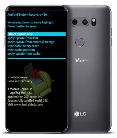LG V35 ThinQ Modes and Respective Keys