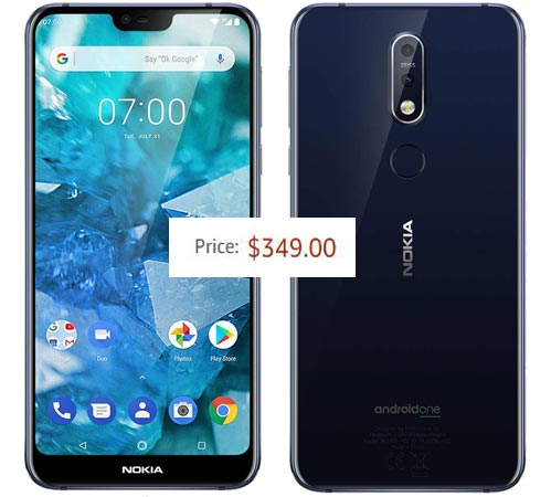 Nokia 7.1 Available For USD 350 in Amazon, BH Photo Video And Best Buy