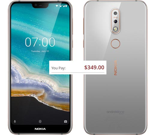 Nokia 7.1 Pre-Order Available For USD 350 Includes Free Basic Photo Kit for Smartphones Worth USD 65