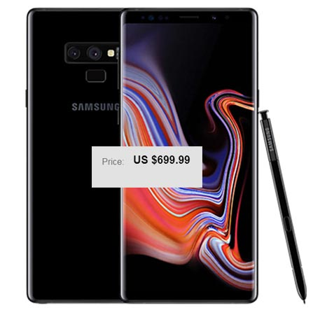 Samsung Galaxy Note 9 128 GB eBay USA Deal USD 700