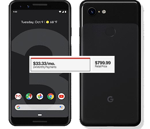 Google Pixel 3 Verizon Pre-Order Available USD 800 Delivery By 18 October 2018